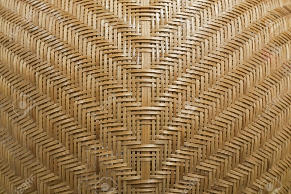 Rattan pattern handmade background