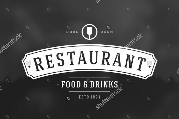 Restaurant Vintage Logo