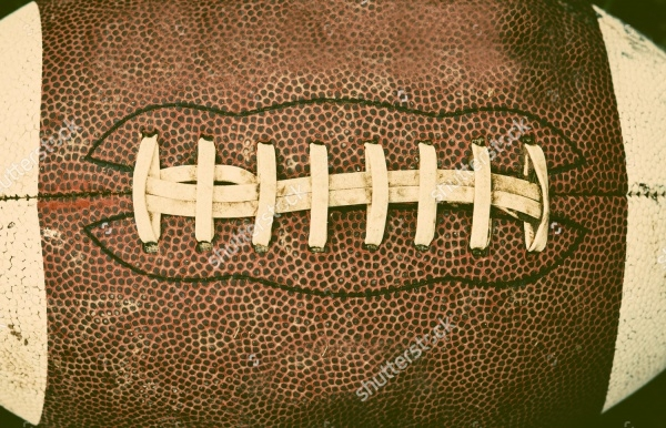 Retro Style Football Texture