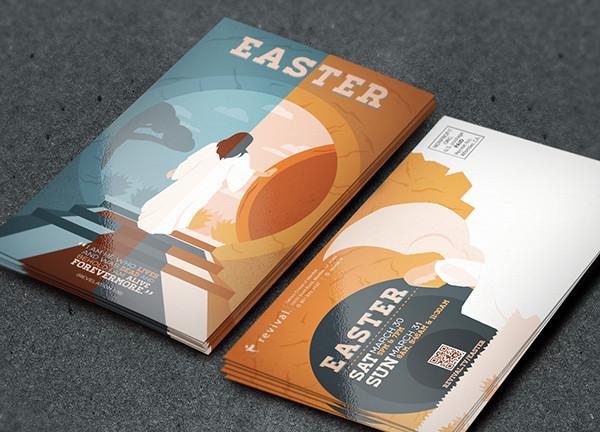 Revival Easter Advertisement Flyer