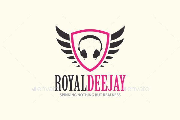 Royal Brand DJ Logo
