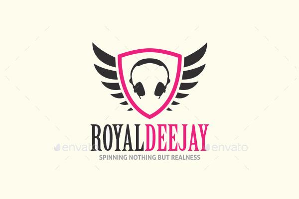 Royal Brand DJ Logo