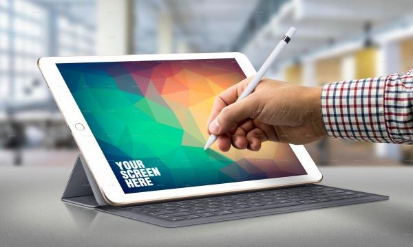 PSD Responsive Tablet Mock-up