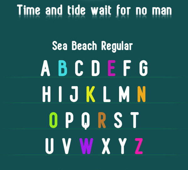 Sea Beach & Sea Surface Regular