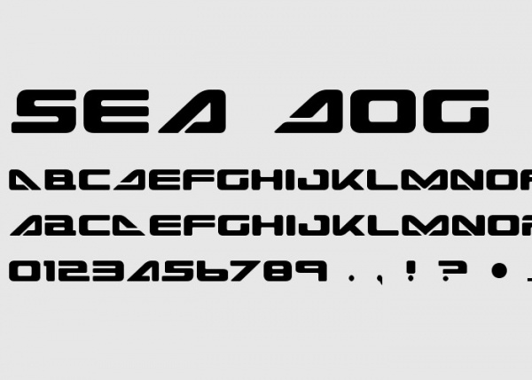 Sea Dog Font