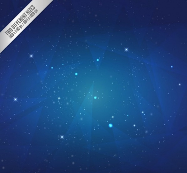 Starry night backgroundVector