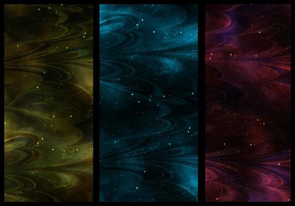 Seamless Abstract Nebula Textures