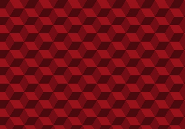 Seamless Red Texture Vector
