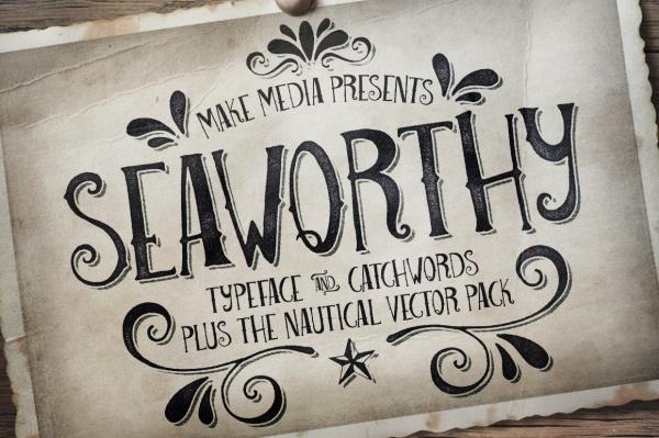 Seaworthy Typeface Font