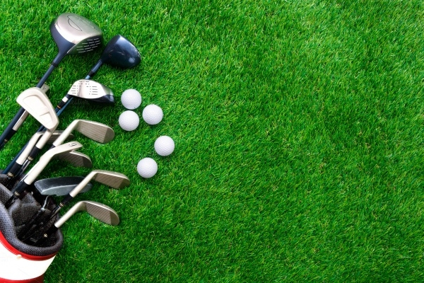Simple Golf Background Vector