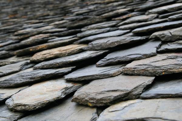 Slate roof tiles Texture