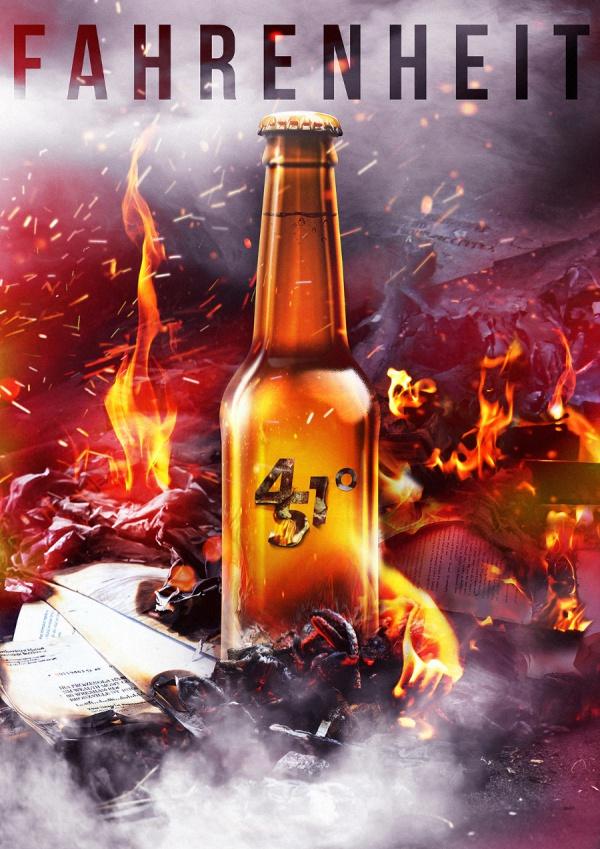 Smart Layered Beer Shape Mock-up