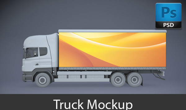 Smart Layered Truck Mock-up