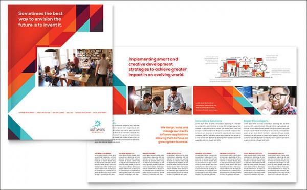 software brochure templates - 21 portfolio brochure templates psd vector eps jpg