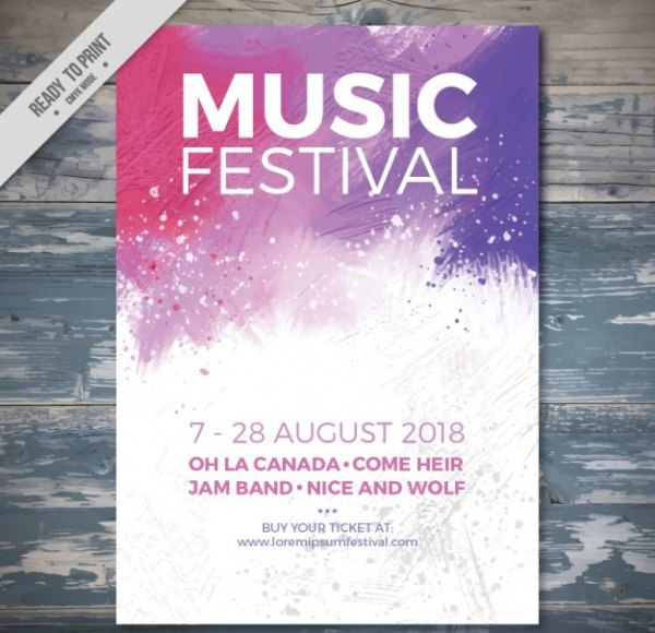 21 Festival Flyer Templates Psd Vector Eps Jpg
