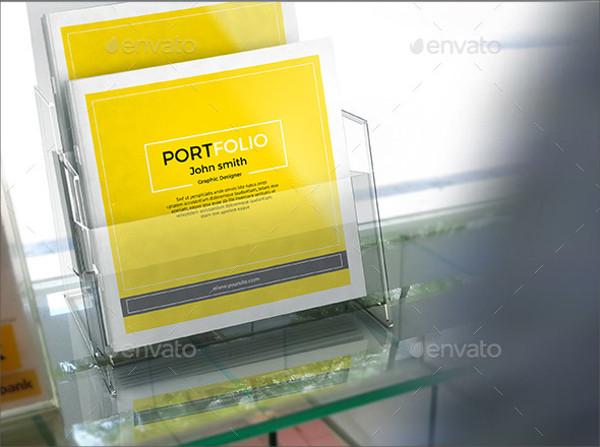 Square Portfolio Brochure Design