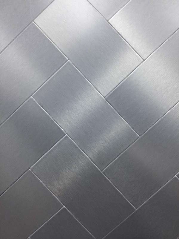 Stainless aluminium Sturface Texture