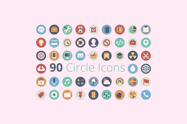 Stunning 90 Circle Icons