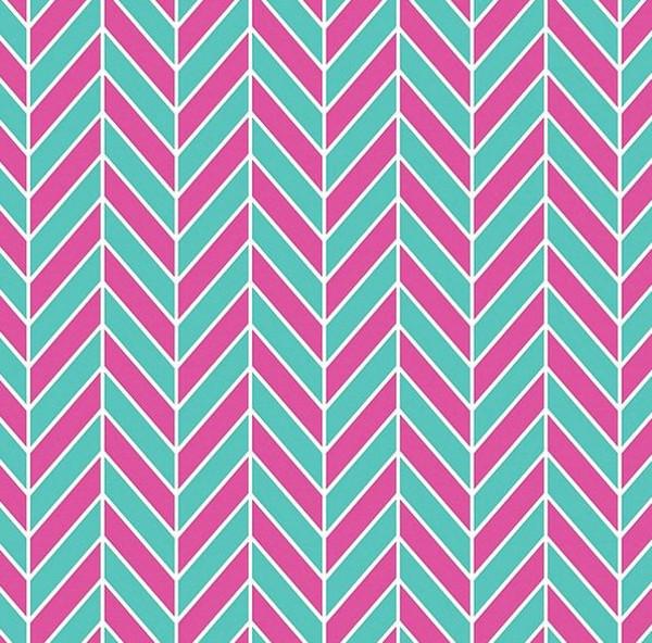 Swatch Pink Colored Herringbone Textures