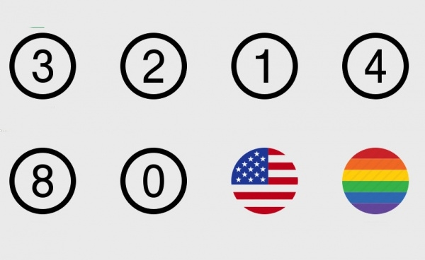 Thin Rounded Circle Icons