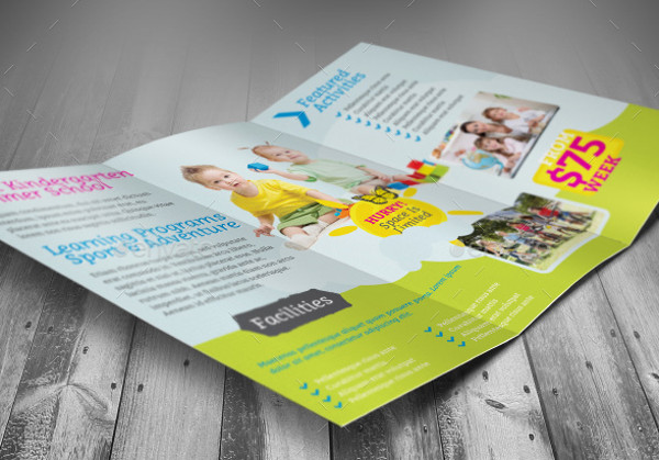 Transitional Kindergarten Brochure Design