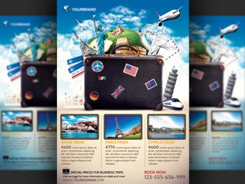 Travel Agency Promotional Flyer