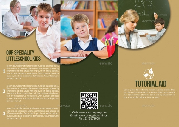Tri Fold Education Brochure