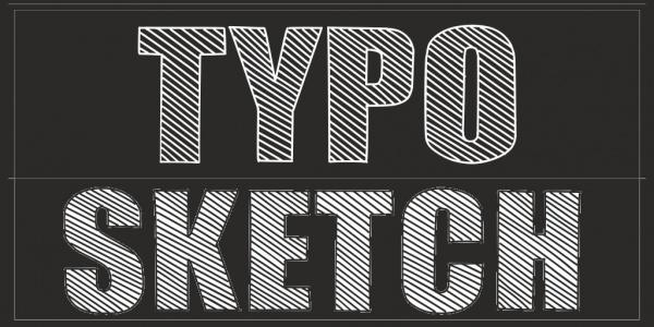 Typo Sketch Demo Font