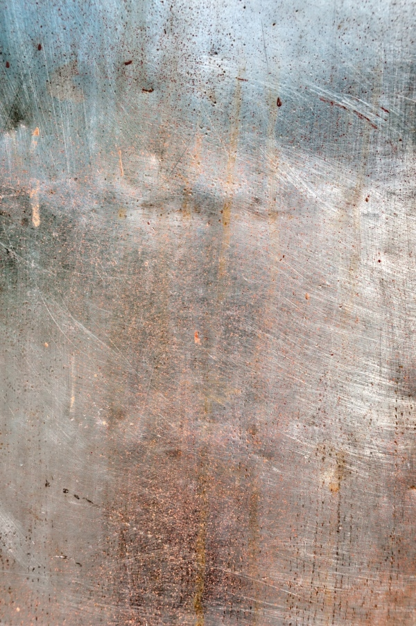 Weathered Stainless Steel Texture