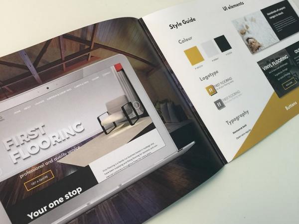 Web Design Portfolio Brochure