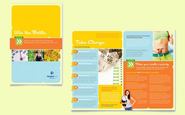 Weight Loss Clinic Brochure