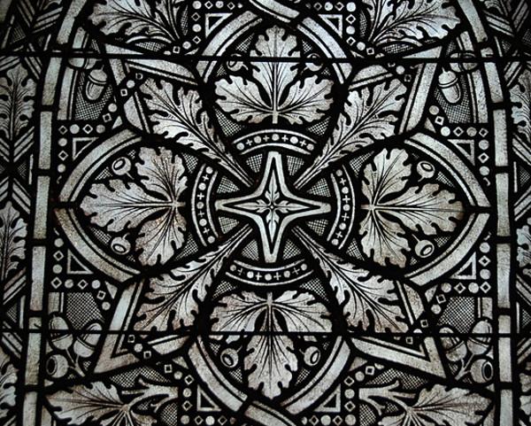Window Paint Glass Pattern
