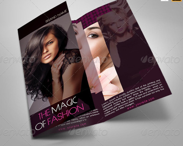 Fashion Brochure Templates  Psd Vector Eps Jpg Download