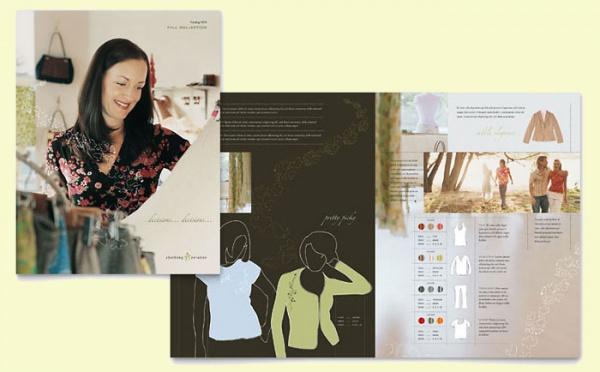 Women's Fashion Clothing Store Brochure