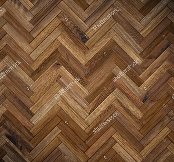 Wooden Floor With Natural patterns