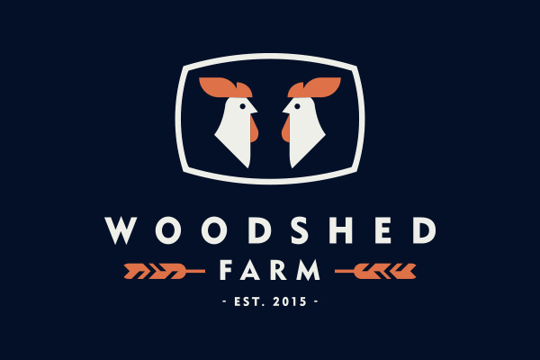 Woodshed Farm Logo Design