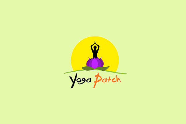 Yoga Patch Logo Design