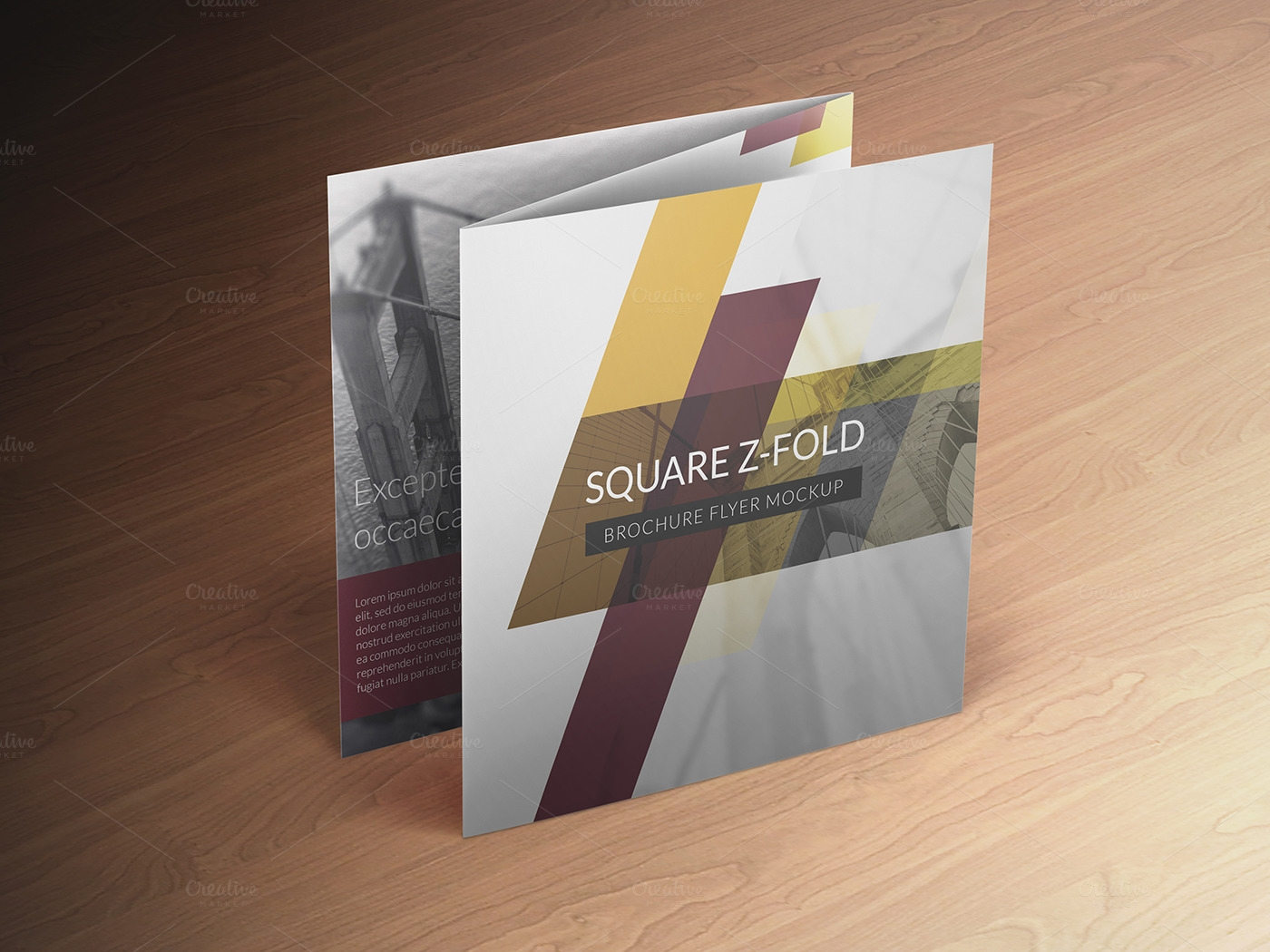24 Folded Brochures Psd Vector Eps Jpg Download