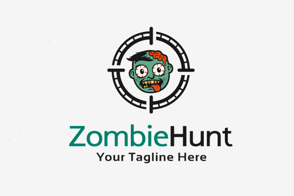 Zombie Devil Hunt Logo