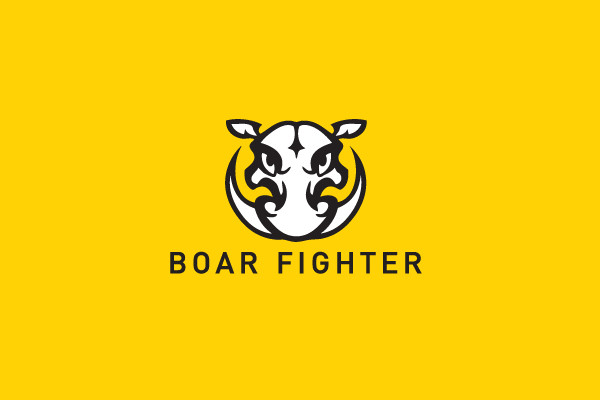 boar Fighter Wild Hunt Logo
