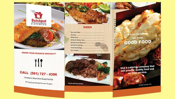 25 catering brochure template psd vector eps jpg download
