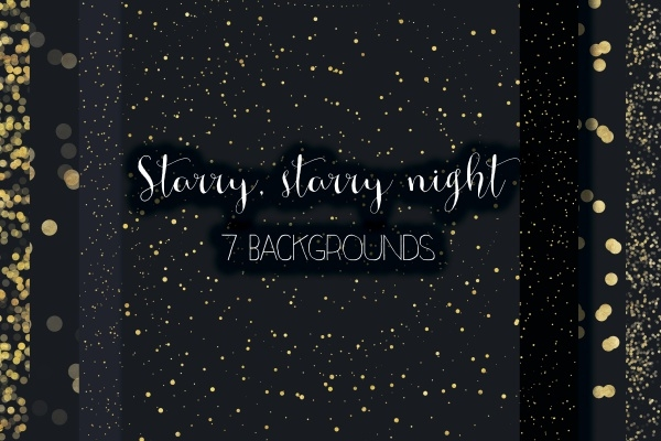Starry Night Backgrounds Texture