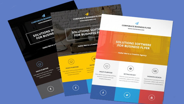 20 branding corporate flyer templates