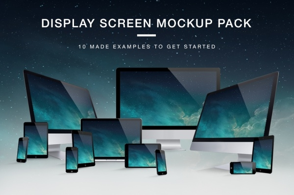 Creative Realistic Responsive Mock-up