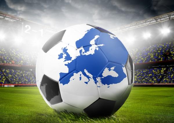 European Football Concept Textures