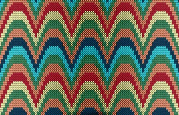 handmade Knit filament Pattern