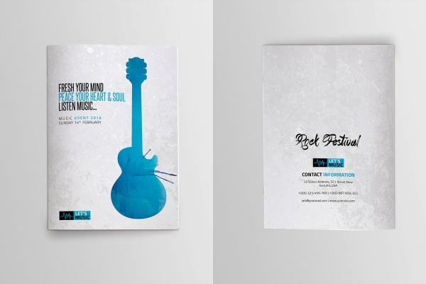 Music Festival Event Brochure