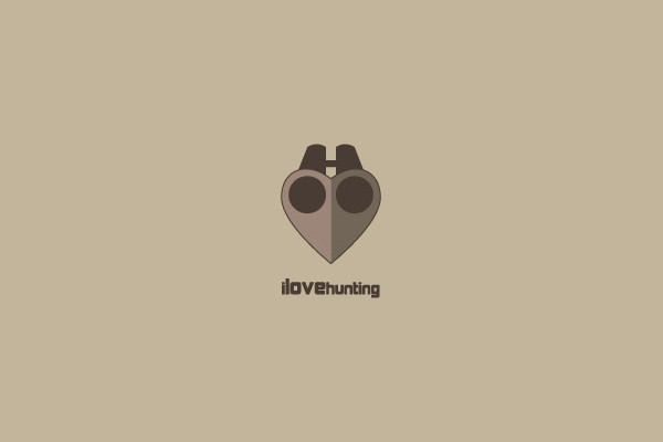 love hunting Logo Design