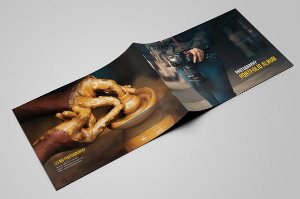 Portfolio Photoshop PSD Brochure