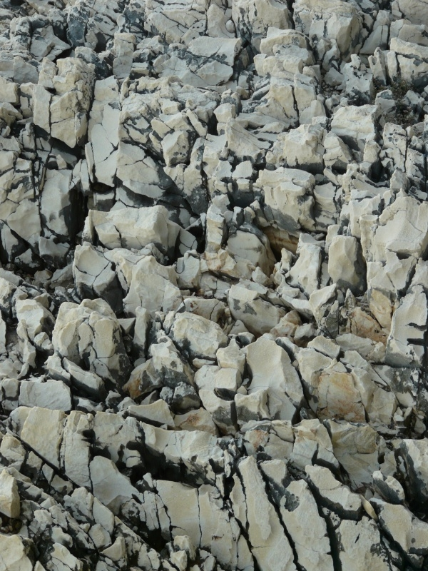 Jagged Rock Cliff Texture